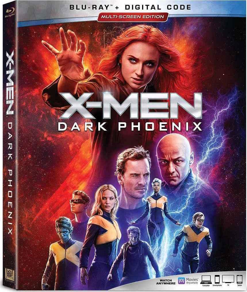 X-MEN: Dark Phoenix Blu-ray Review