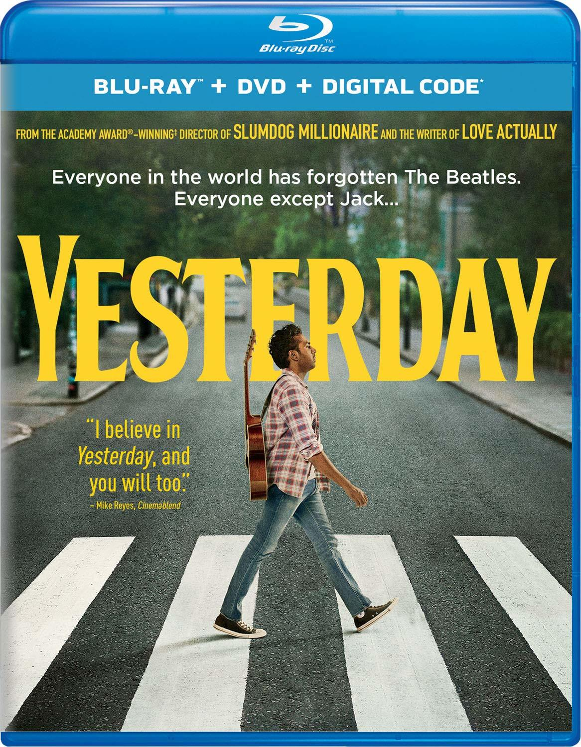 Yesterday Blu-ray Review