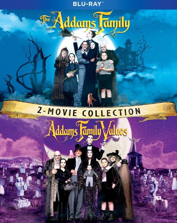 The Addams Family 2 Movie Collection Blu-ray