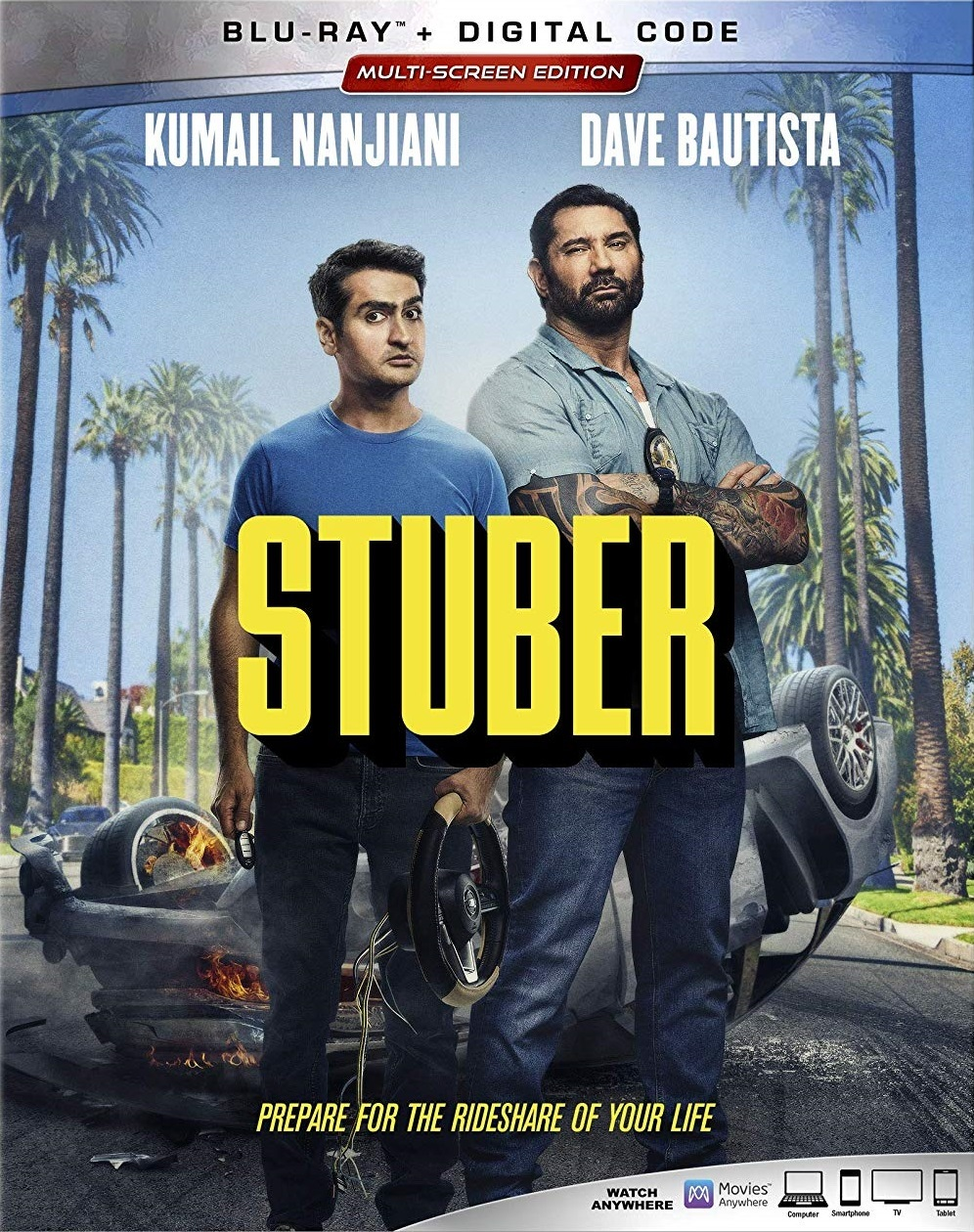 STUBER Blu-ray Review