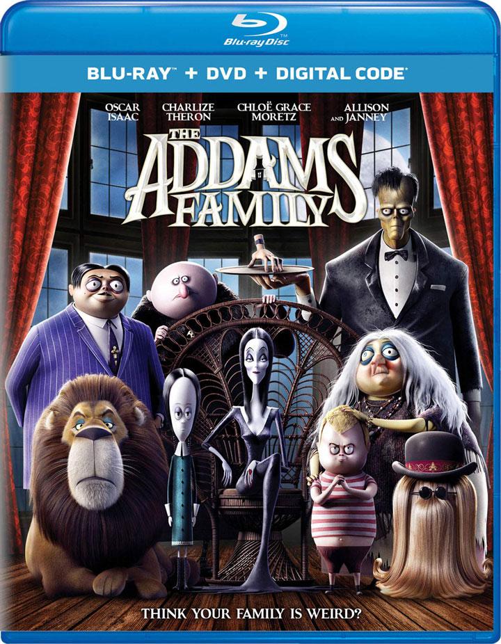Addams Family Blu-ray