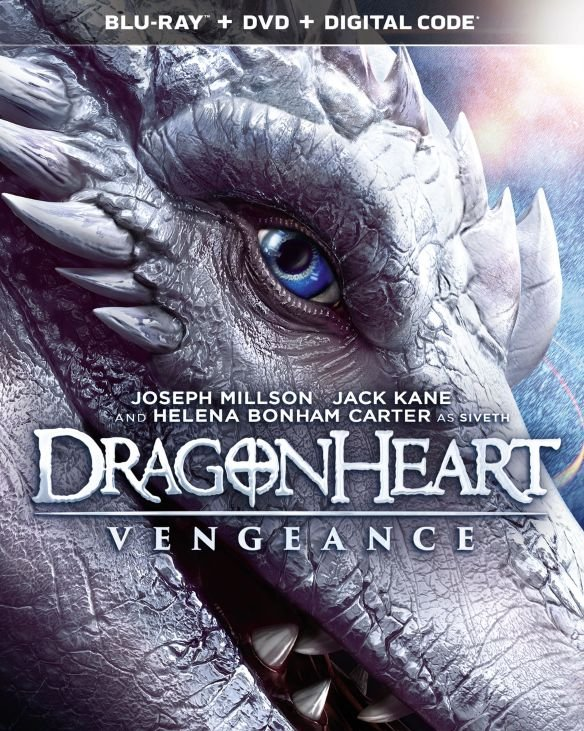 Dragonheart: Vegeance Blu-ray
