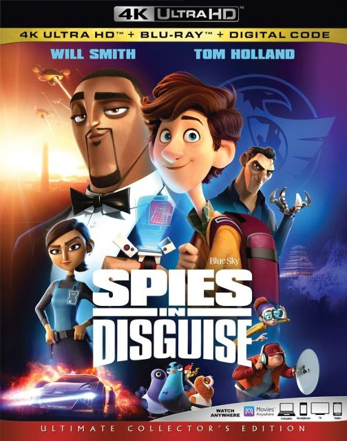Spies in Disquise 4K/Blu-ray