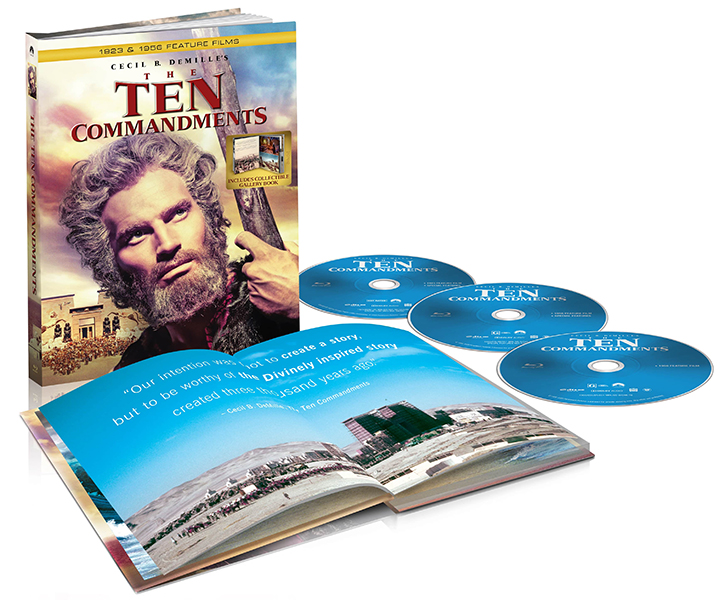 The Ten Commandments Blu-ray