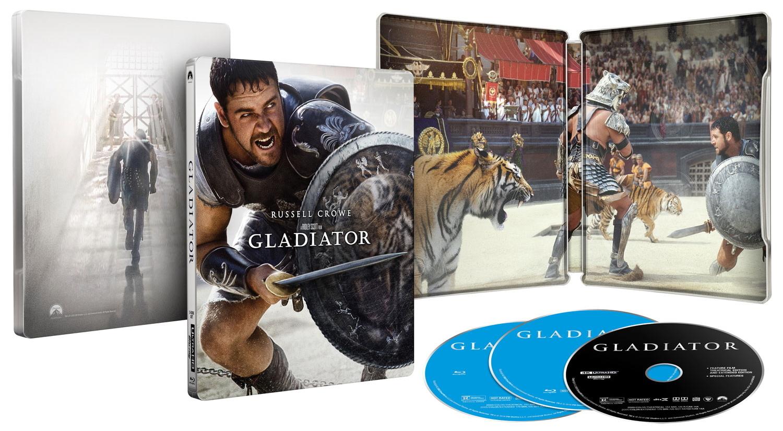 Gladiator 20th Anniversary Steelbook