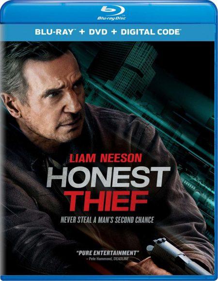 Honest Thief on Blu-ray