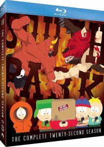 South Park: The Complete Twenty-Second Season Blu-ray