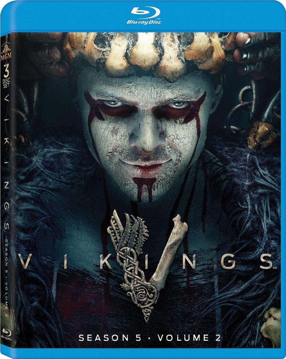 Vikings Season 5 Volume 2 Blu-ray