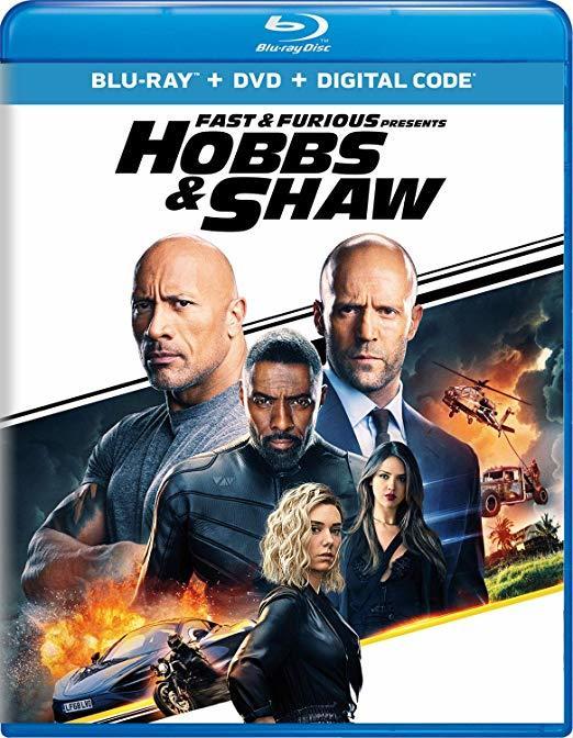 Hobbs & Shaw Blu-ray