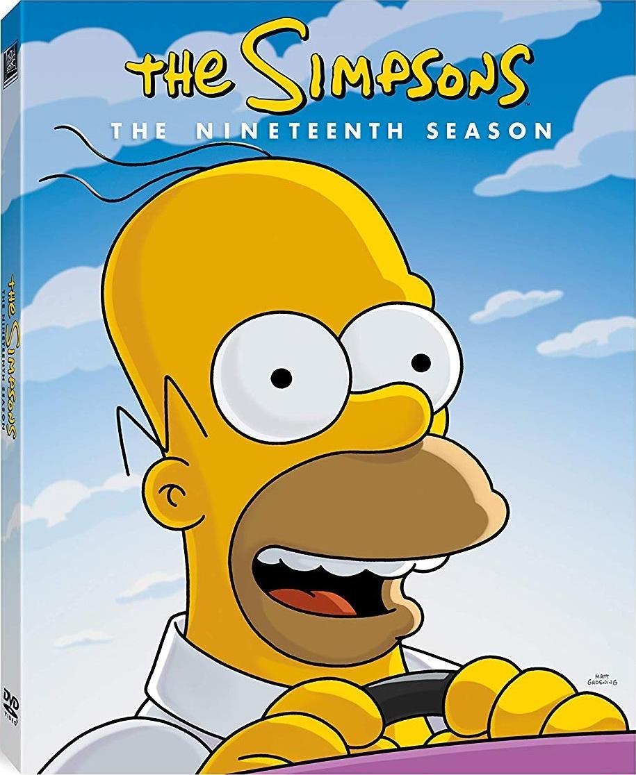 The Simpsons: The Nineteenth Season DVD