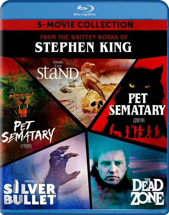 Stephen King's Five Movie Collection Blu-ray